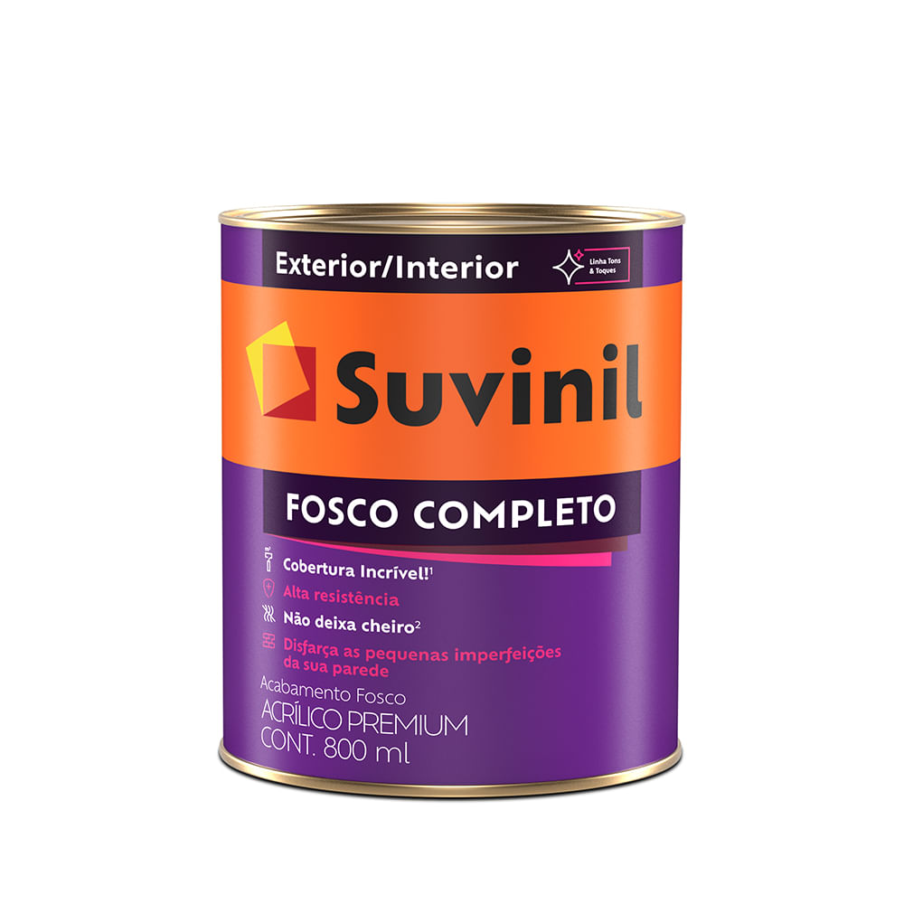 bb10874fd Suvinil Fosco Completo: a tinta completa muito além do nome. - Loja ...