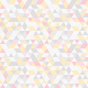 Papel-de-Parede-Geometrico-Triangulos-Multicolor-Rosa
