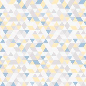 Papel-de-Parede-Geometrico-Triangulos-Multicolor-Azul